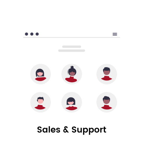Sales & Support
